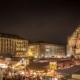 Nürnberger Chrsitkindlesmarkt bei Nacht