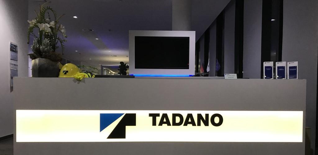 Empfang der Tadano Faun GmbH