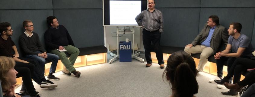 Vortrag von Prof. Tugrul Daim im Rahmen der 8. quer.lesung