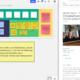 """as Bild zuf der linken Seite ein Miro Board und auf der rechten Seite die quer.kraft Veranstaltung """"quer.talk – Tools für die Zusammenarbeit im Netz gemeinsam testen"""""""