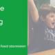 Nie mehr eine quer.kraft Veranstaltgun Verpassen, jubelnde Kinder vor PC