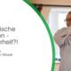 """Das Bild zeigt den Vortragenden Prof. Dr. Oliver Mayer und den Text """"Systematische Innovation - mit Sicherheit?! Unser 2. quer.talk mit Prof. Dr. Oliver Mayer"""