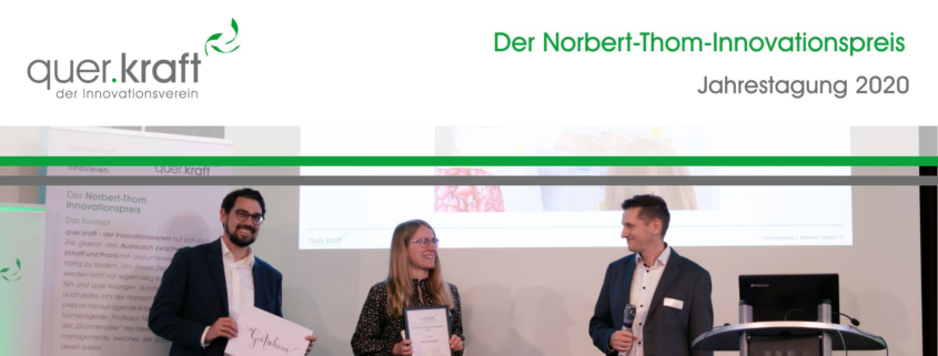 Der Norbert-Thom-Innovationspreis
