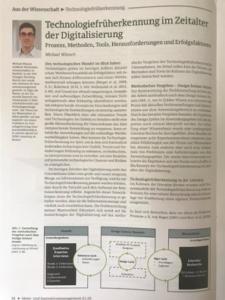 Arbeit des NTIP-Teilnehmers im Magazin