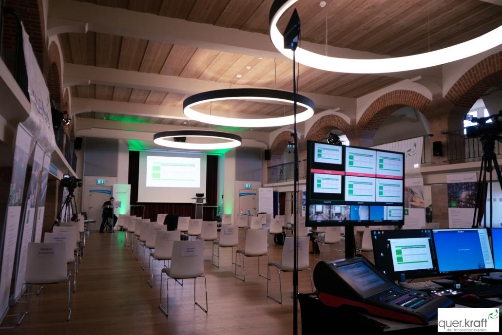Eppeleinsaal an der Jahrestagung 2020 in Nürnberg